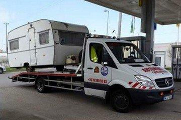 Lakókocsi mentés