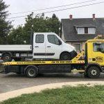 Augusztus havi jármű mentések